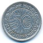 Веймарская республика, 50 рейхспфеннигов (1930 г.)