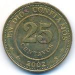 Никарагуа, 25 сентаво (2002 г.)