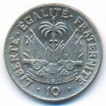 Гаити, 10 сентим (1958 г.)
