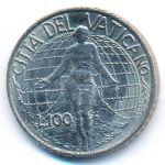 Ватикан, 100 лир (1998 г.)