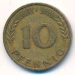 ФРГ, 10 пфеннигов (1950 г.)