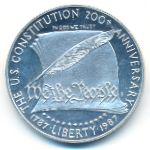 США, 1 доллар (1987 г.)