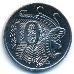 Австралия, 10 центов (2020 г.)
