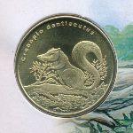 Остров Биоко, 5 долларов (2021 г.)