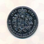 Великобритания, 5 фунтов (2021 г.)