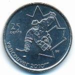 Канада, 25 центов (2009 г.)