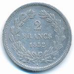 Франция, 2 франка (1832 г.)
