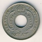 British West Africa, 1/10 penny, 1912–1936