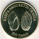 Wallis and Futuna, 100 francs, 2011