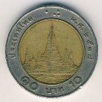 Таиланд, 10 бат (1989–2008 г.)