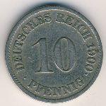 Германия, 10 пфеннигов (1891–1915 г.)