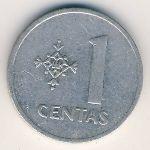 Литва, 1 цент (1991 г.)