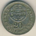 Sao Tome and Principe, 20 centavos, 1929