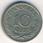 Дания, 10 эре (1961–1971 г.)