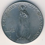 Vatican City, 1 lira, 1929–1937