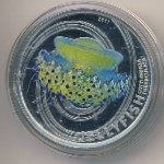 Pitcairn Islands, 2 dollars, 2011