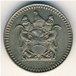 Rhodesia, 5 cents, 1973