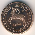 Cyprus, 2 euro cent, 2004