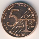 Cyprus, 5 euro cent, 2004